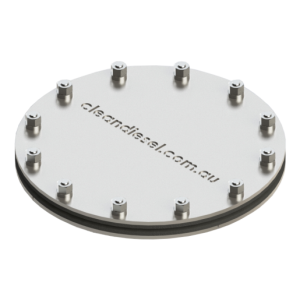 round inspection hatch for tanks